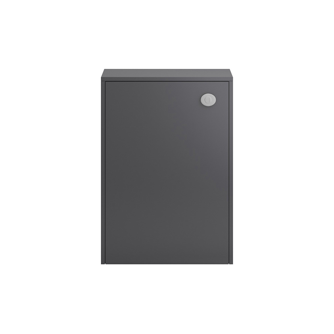 Hudson Reed Grey Gloss Apollo 600mm WC Unit - FMA446C