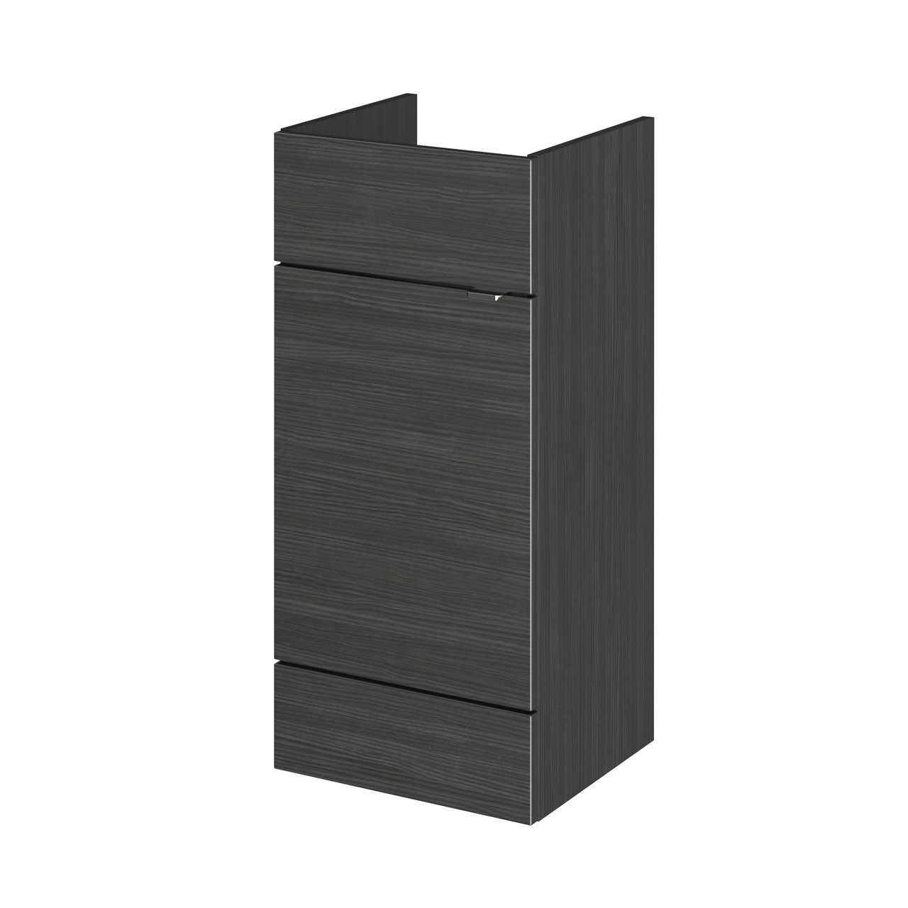 Hudson Reed Hacienda Black 400mm Vanity Unit - OFF604