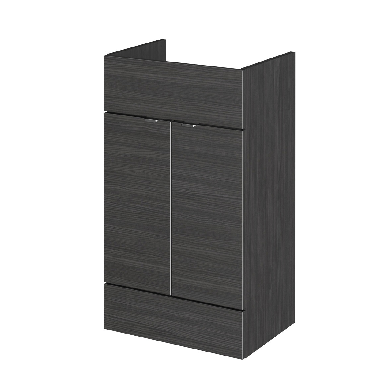 Hudson Reed Hacienda Black 500mm Vanity Unit - OFF606