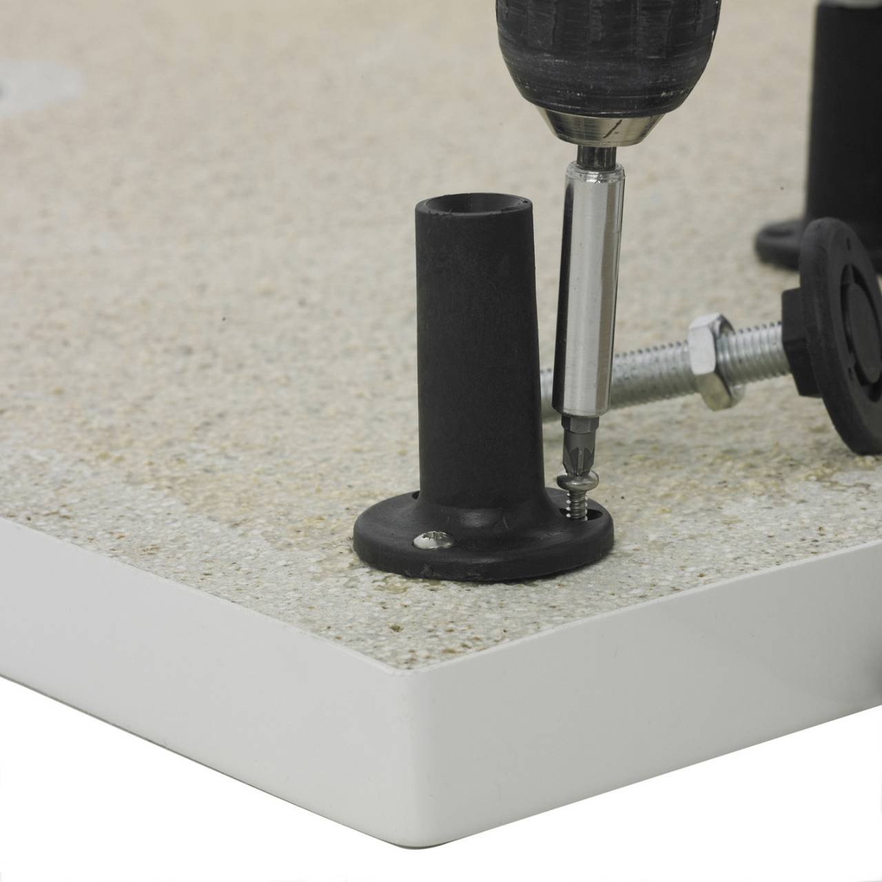 Hudson Reed Leg and Plinth Kit for up to 1000mm x 1000mm Shower Tray - LEGE