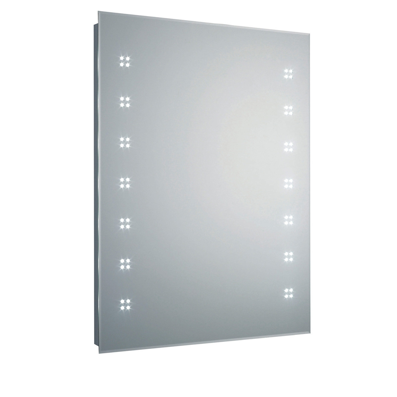 Hudson Reed Lucid LED Mirror with Shaving Socket - LQ365