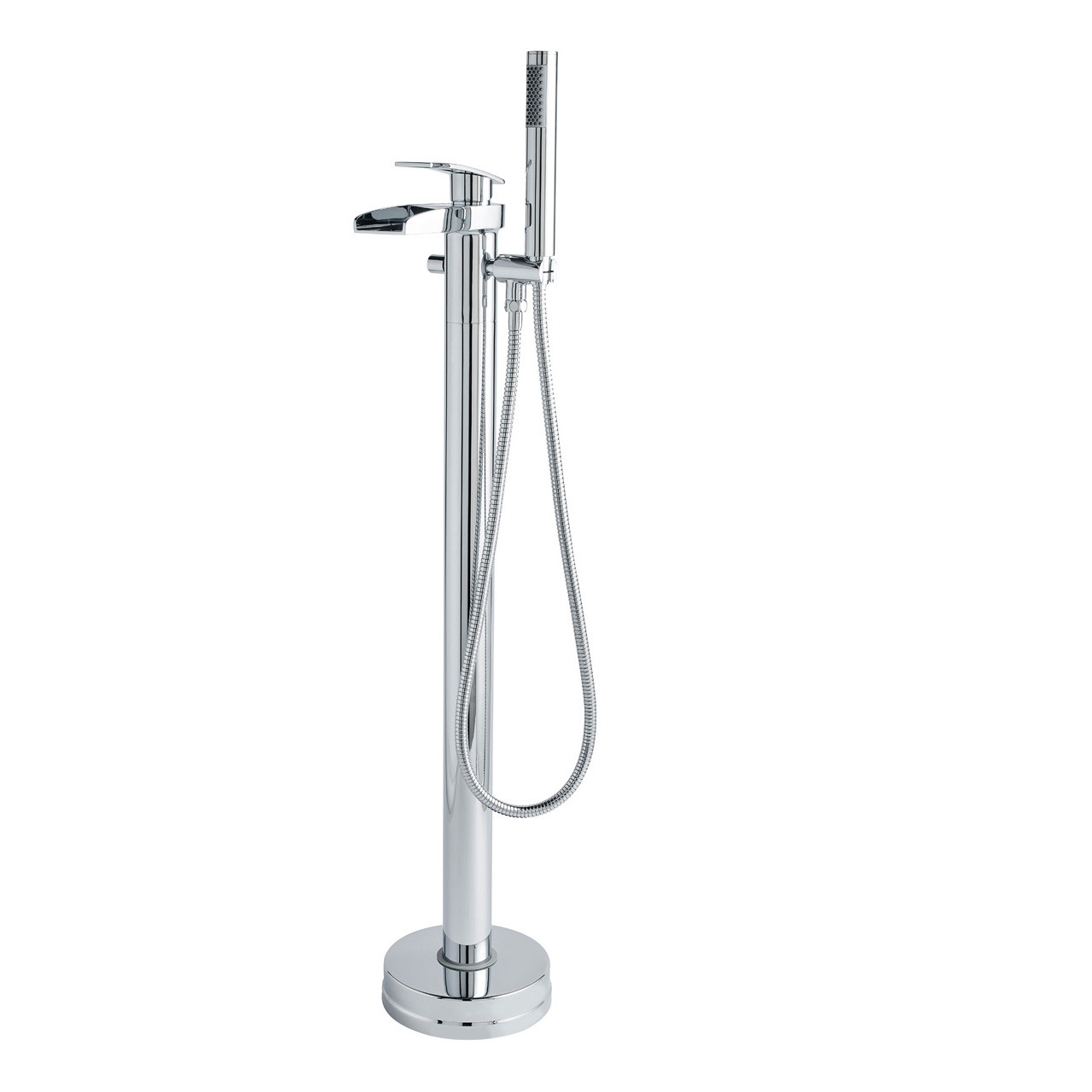 Nuie Rhyme Freestanding Bath and Shower Mixer Tap with Handset - TFR392