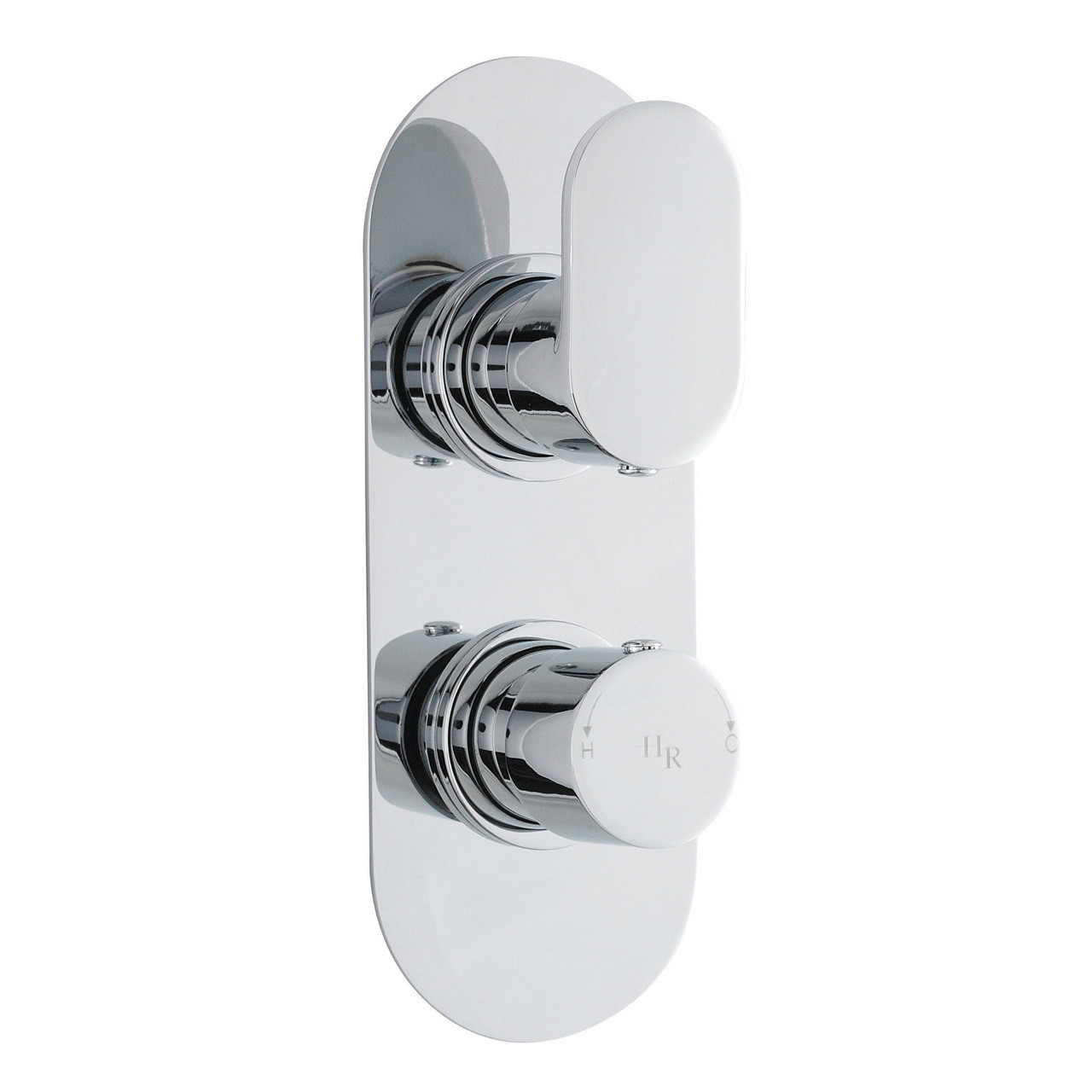 Hudson Reed Reign Twin Concealed Thermostatic Valve - REI3410