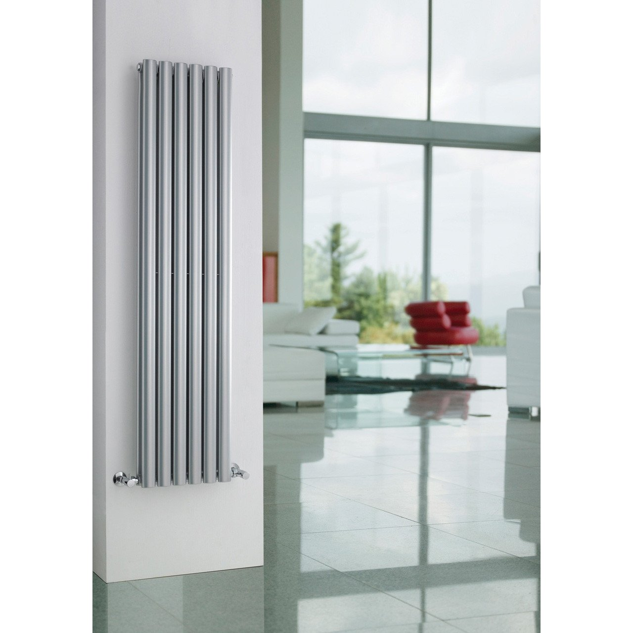 Hudson Reed Revive Double Panel Radiator 1500mm x 354mm - HLS86