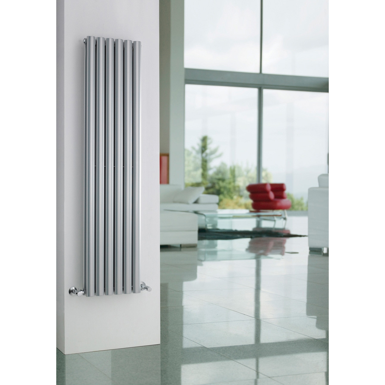 Hudson Reed Revive Double Panel Radiator 1800mm x 354mm - HLS87