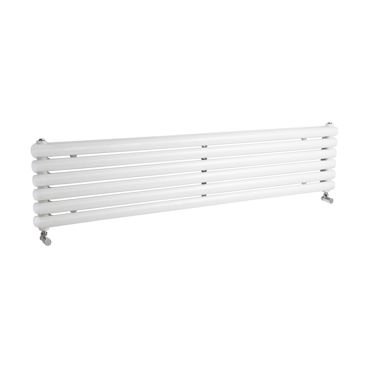 Hudson Reed Salvia Gloss White 1500mm x 383mm Horizontal Single Panel Radiator - HSA002H