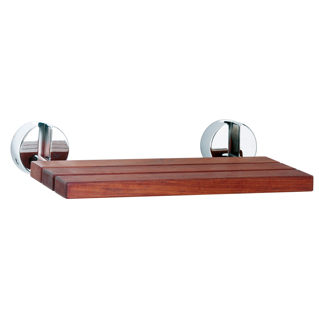 Hudson Reed Shower Seat with Chrome Hinges - LA371