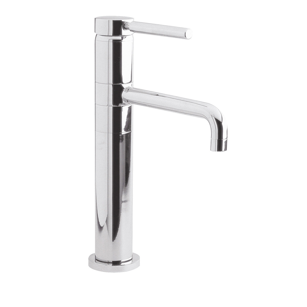 Hudson Reed Single Lever High Rise Mixer Swivel Spout - PK370