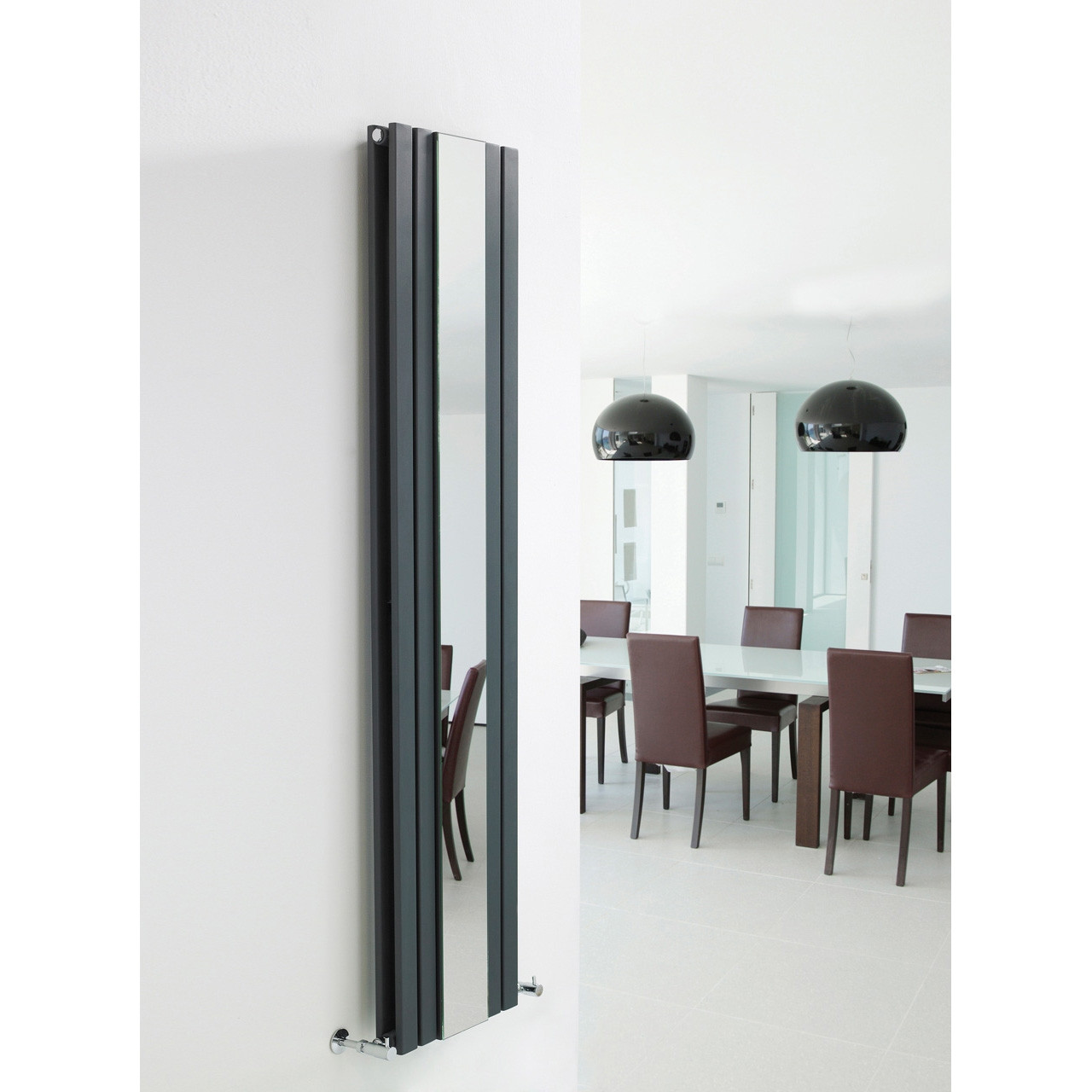 Hudson Reed Sloane Double Panel Rad Mirror 1800mm x 381mm - HLA84
