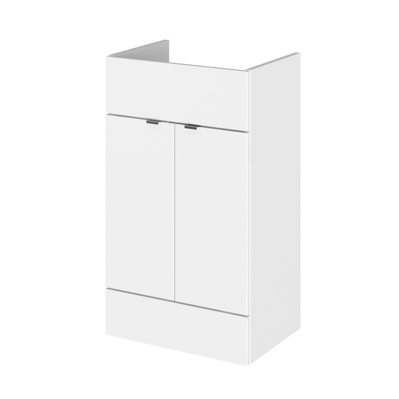 Hudson Reed White Gloss 500mm Vanity Unit - OFF106