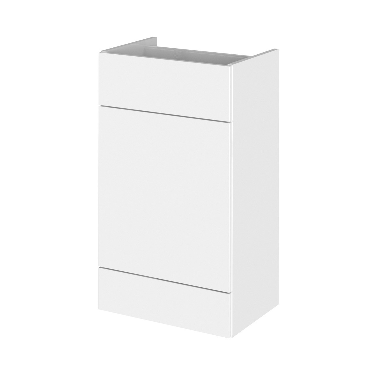 Hudson Reed White Gloss 500mm WC Unit - OFF146
