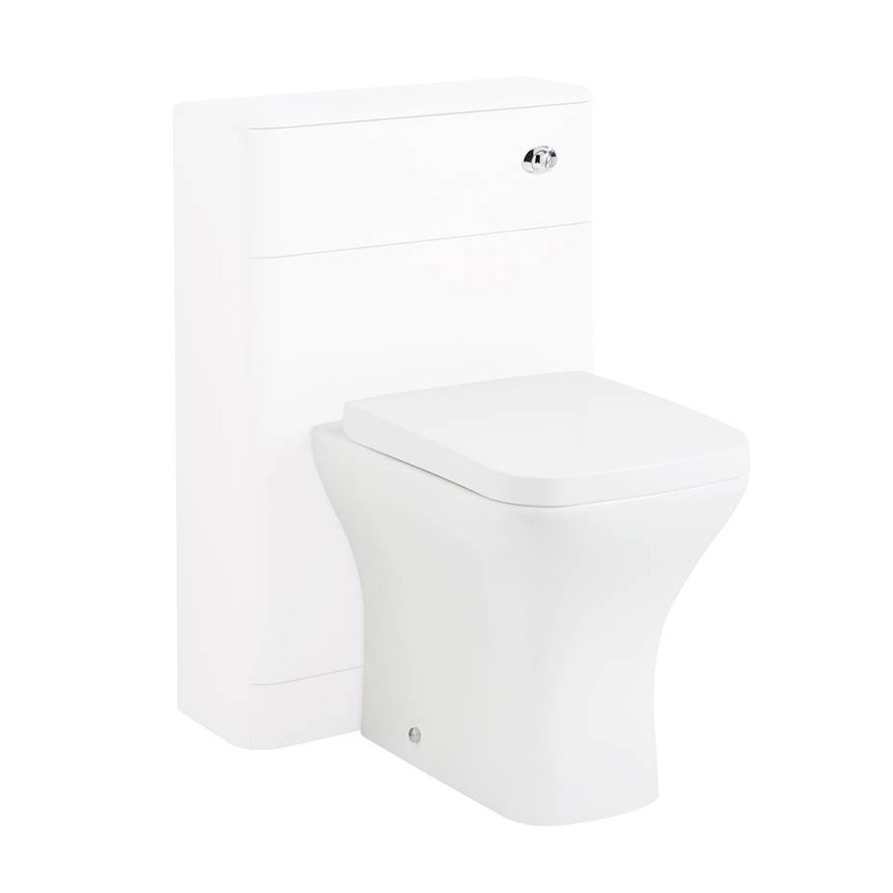 Hudson Reed White Sarenna 500mm WC Unit - FMB1742