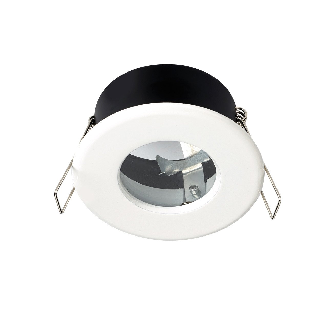 Hudson Reed White Shower Light Fitting - SE30014W0