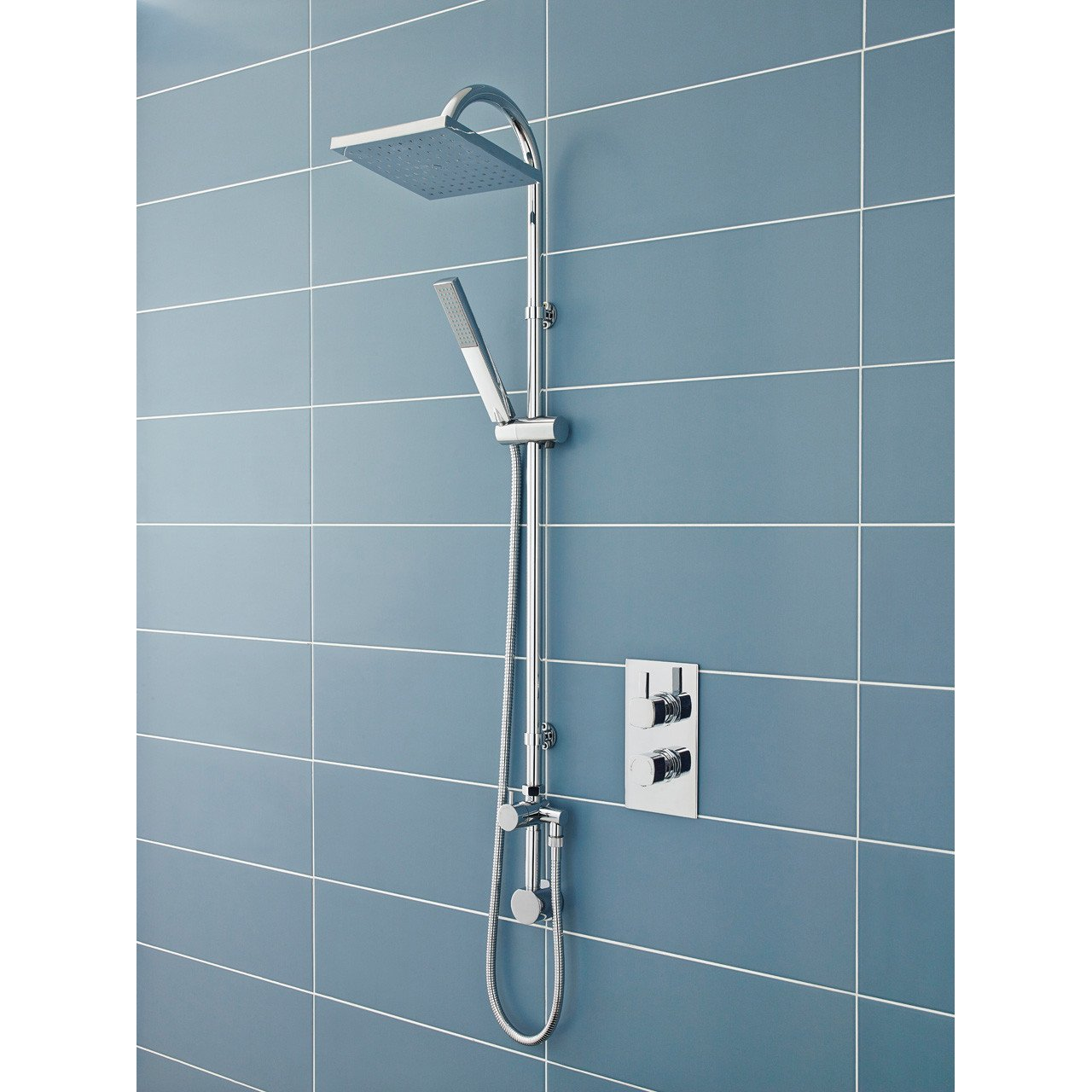 Hudson Reed Worth Shower Kit with Concealed Outlet Elbow - A3116