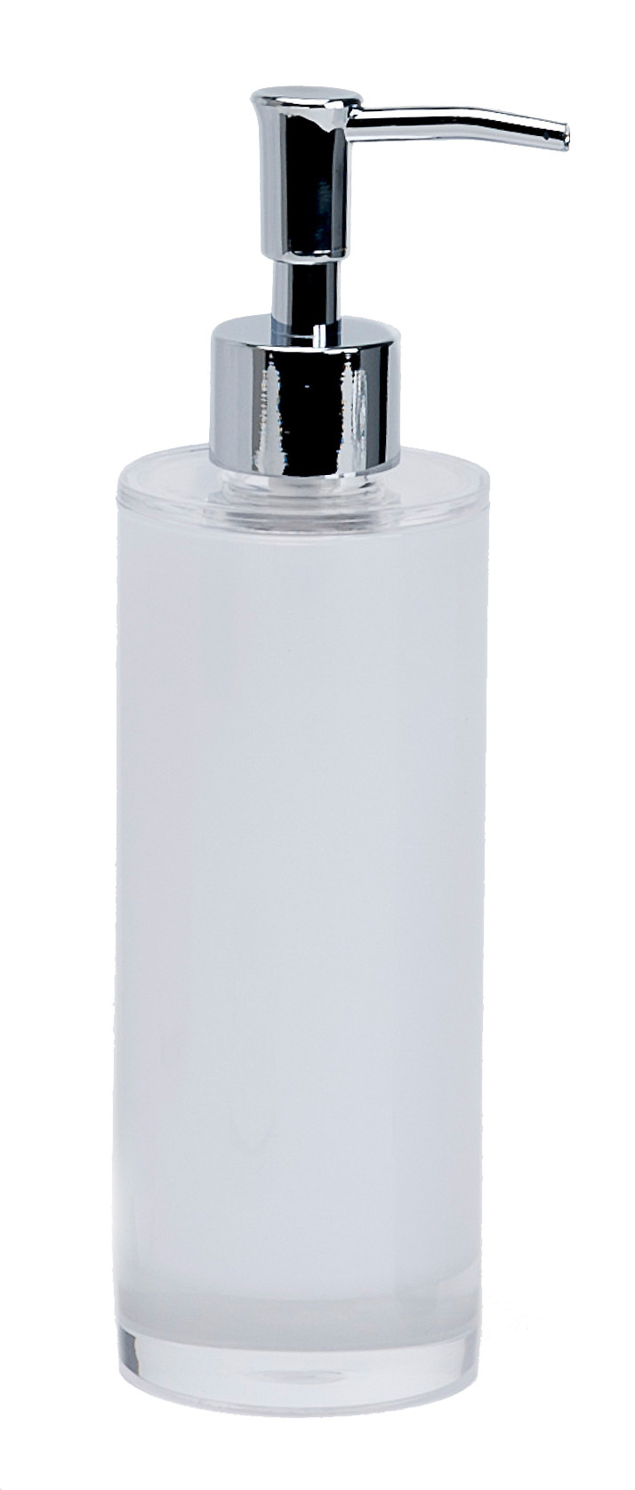 Ice Frosted Acrylic Liquid Soap Dispenser