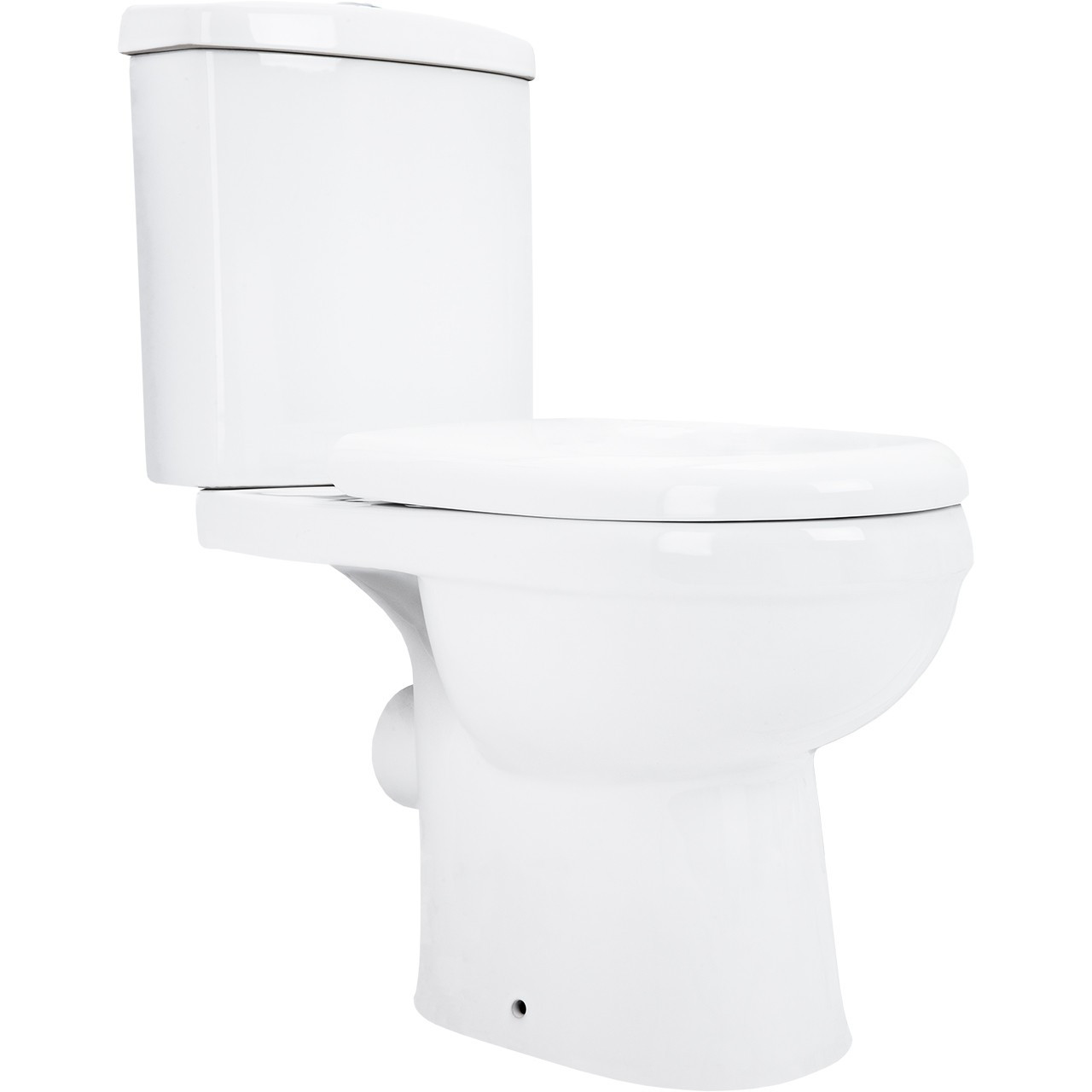 Ideal Close Coupled Toilet with Soft Close Seat