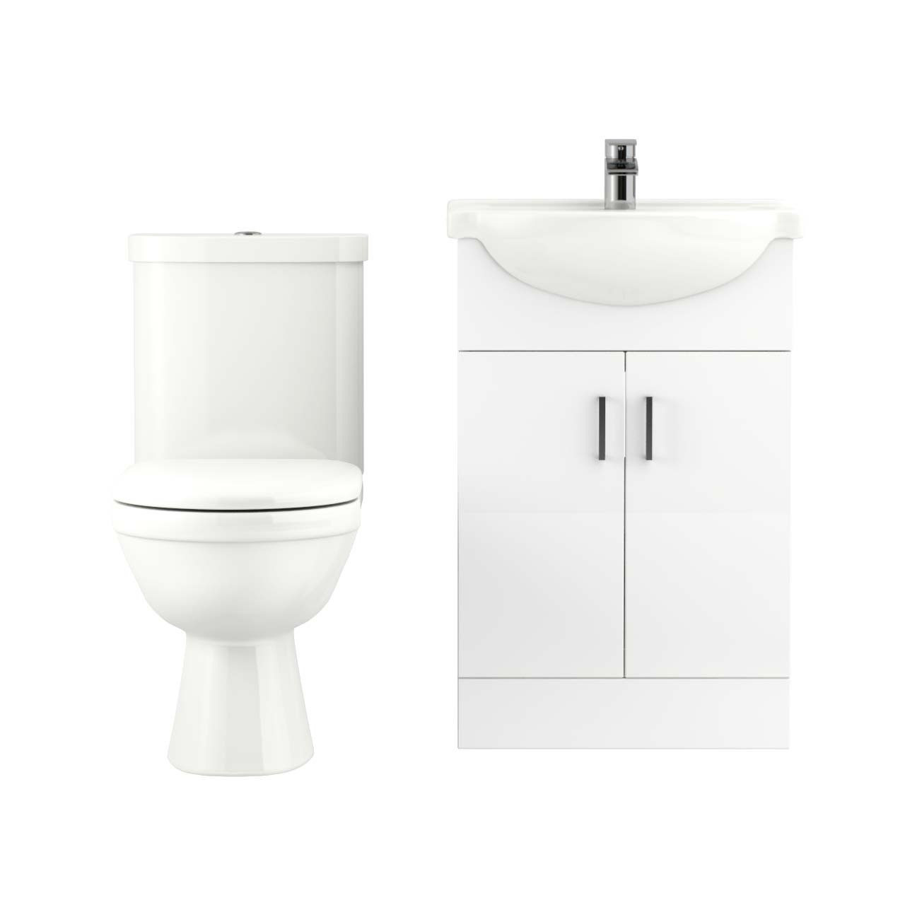 James 550mm Vanity Unit & Toilet Suite
