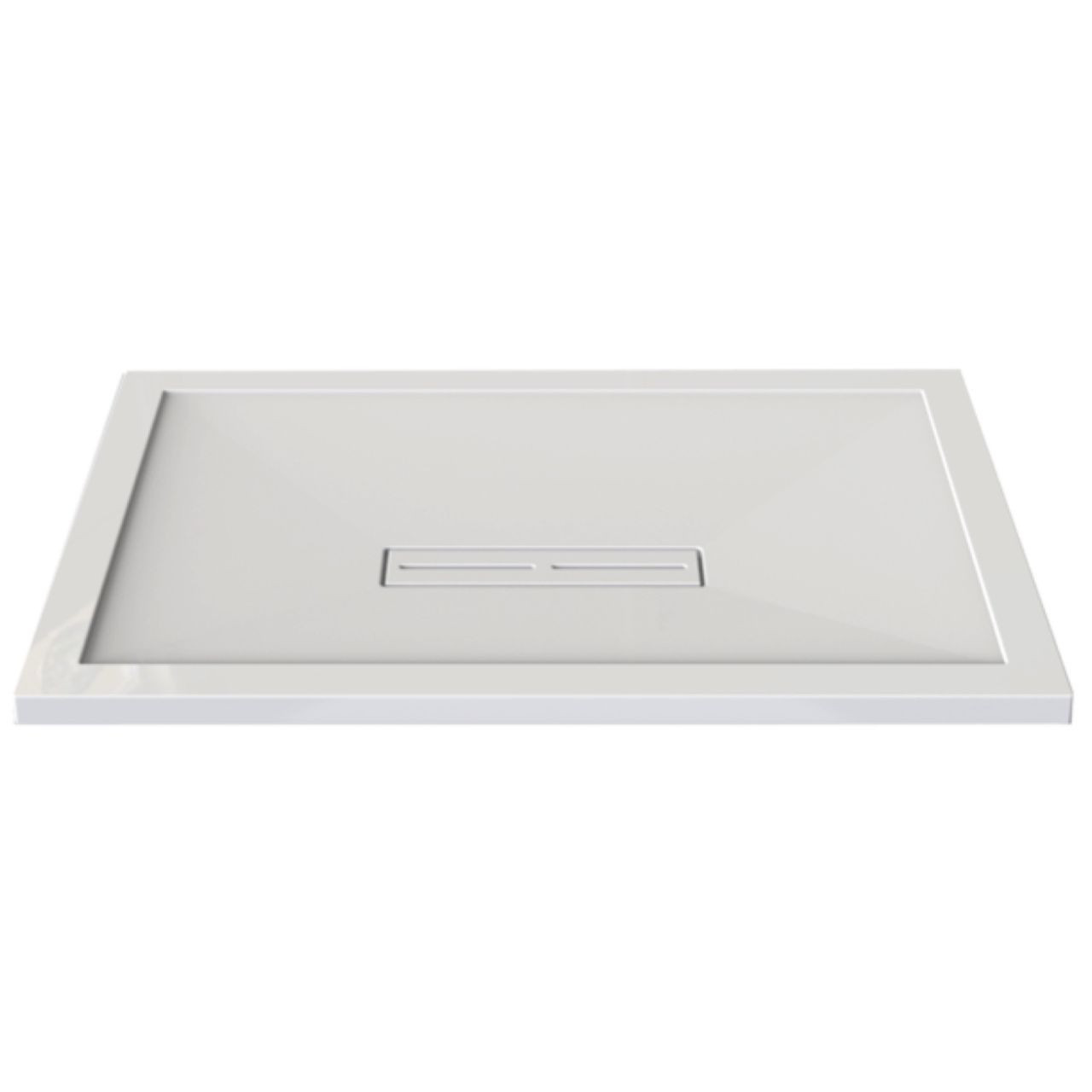 Kudos Connect2 1400mm x 800mm x 35mm Rectangular Shower Tray - C2T14080