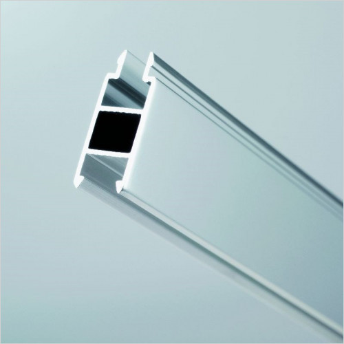 Kudos Infinite 10mm Extension Profile Door/Panel Silver Pack of 2