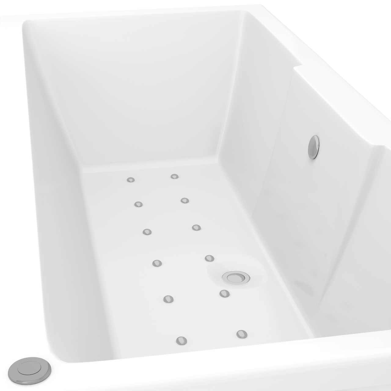 Legend Left Hand 12 Jet Easifit Spa Whirlpool Bath 1600x700mm