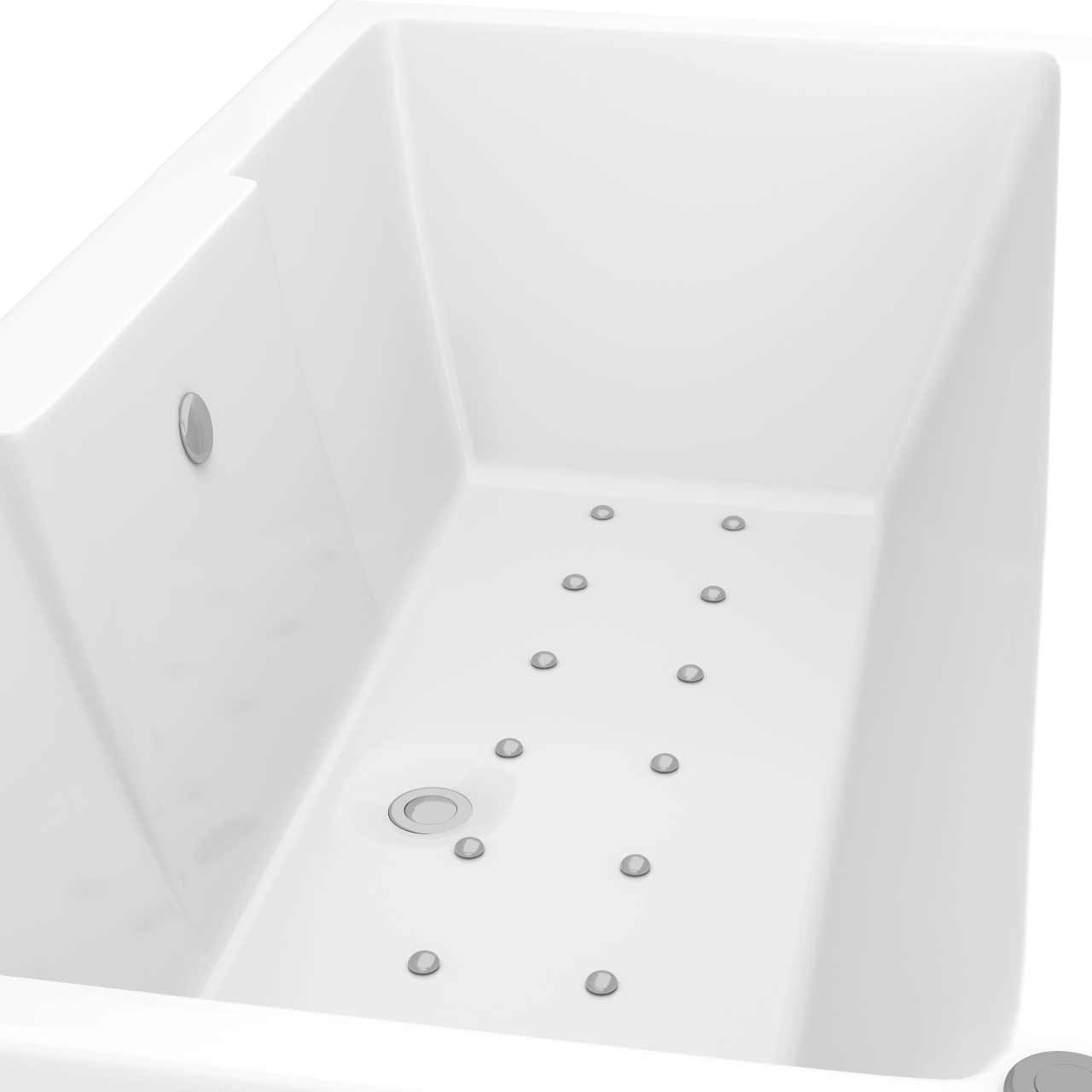 Legend Right Hand 12 Jet Easifit Spa Whirlpool Bath 1500x700mm