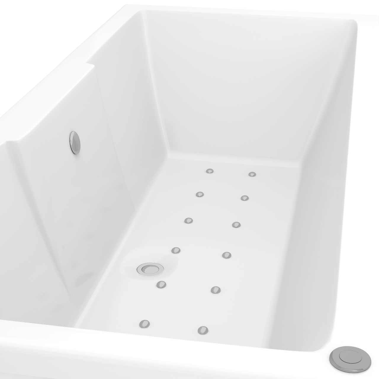 Legend Right Hand 12 Jet Easifit Spa Whirlpool Bath 1600x700mm