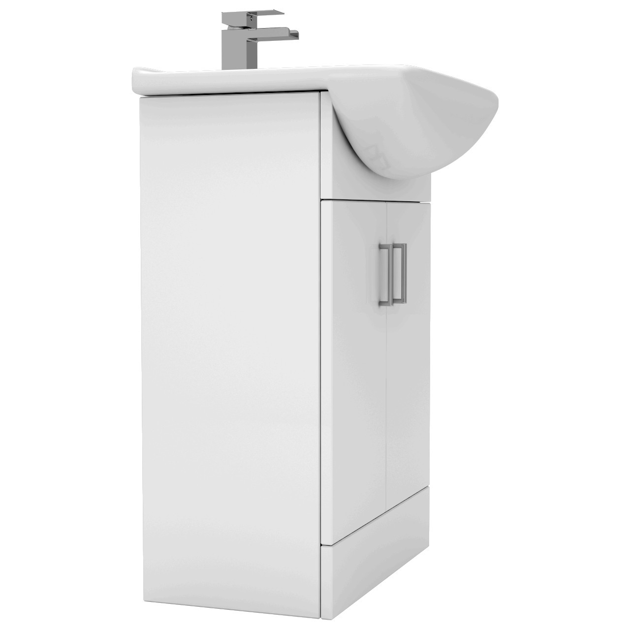 Modena 550mm Vanity Unit Including Basin with 1 Tap Hole