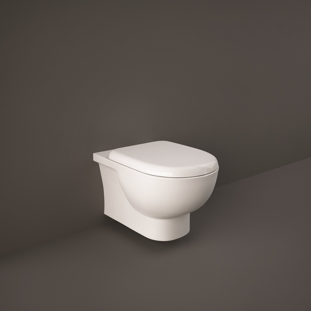 Monza Rimless Wall Hung Toilet Pan With Soft Close Seat
