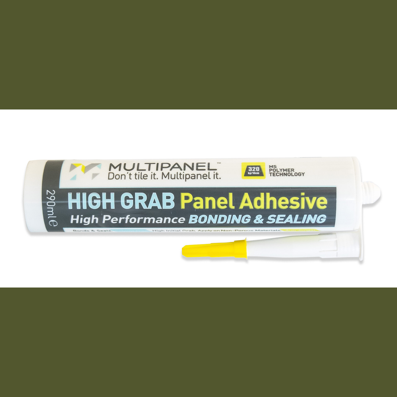Multipanel High Grab Adhesive & Sealant 290ml White