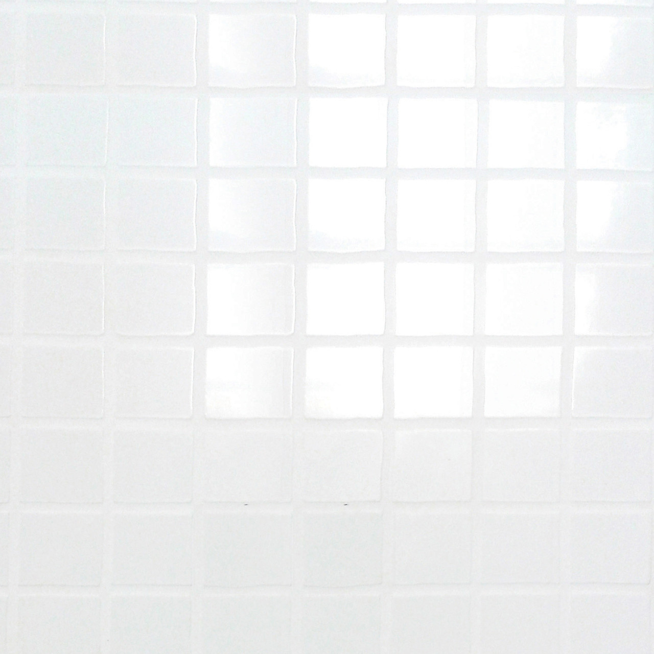 Multipanel White Embossed Tile 2440mm x 1220mm Bathroom Wall Panel