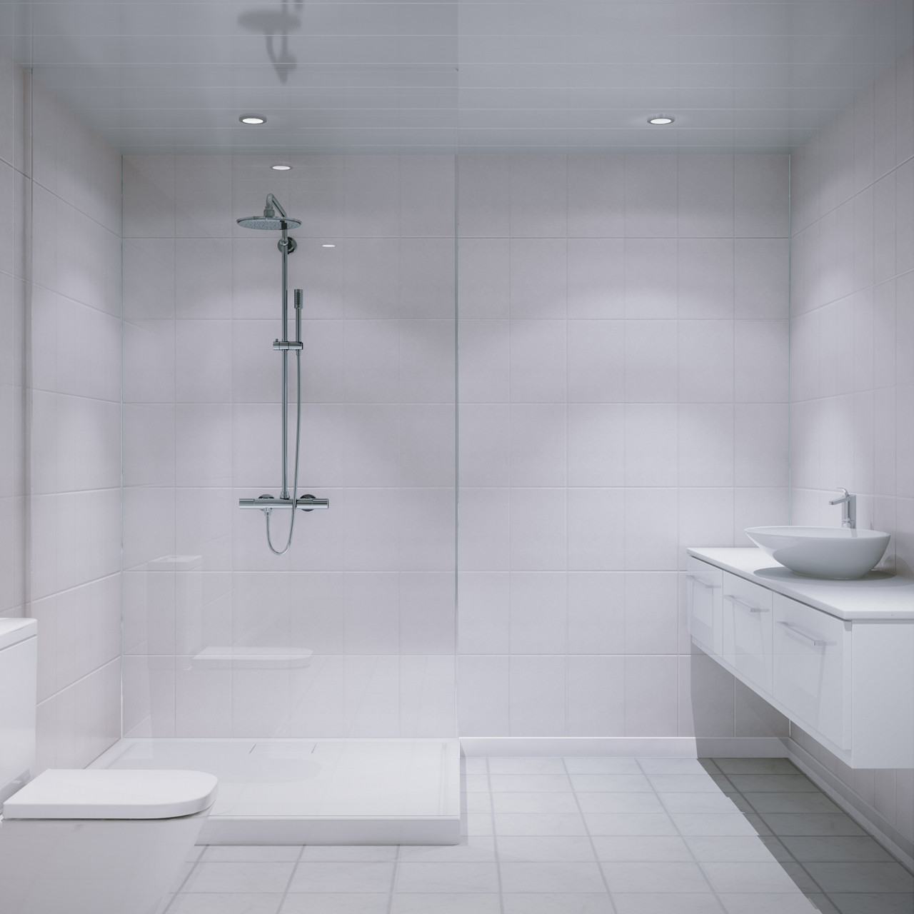 white bathroom wall panels multipanel white galaxy xl bevelled tile 2440mm x 1220mm 21486