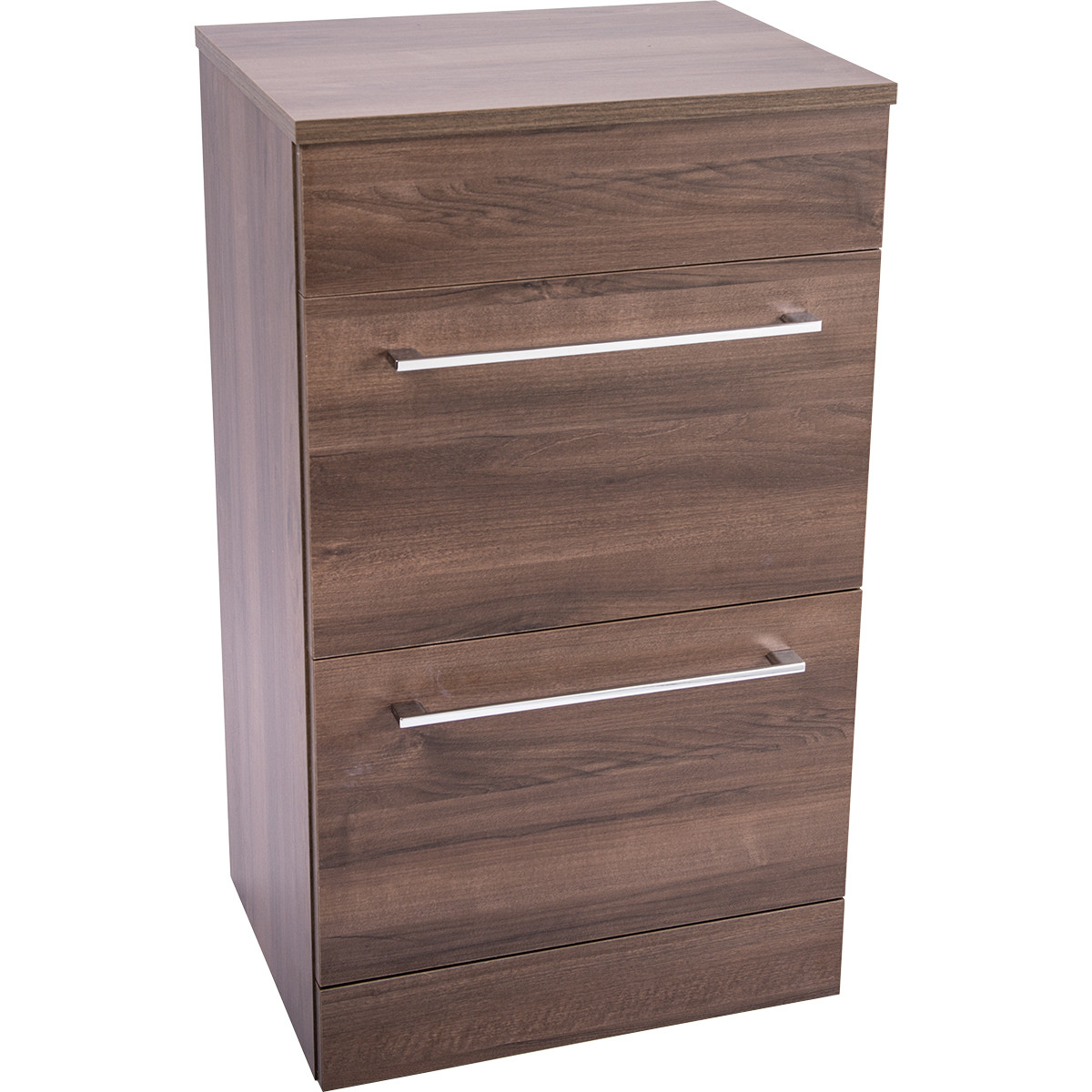 Napoli Walnut 2 Drawer 500 Unit & Top