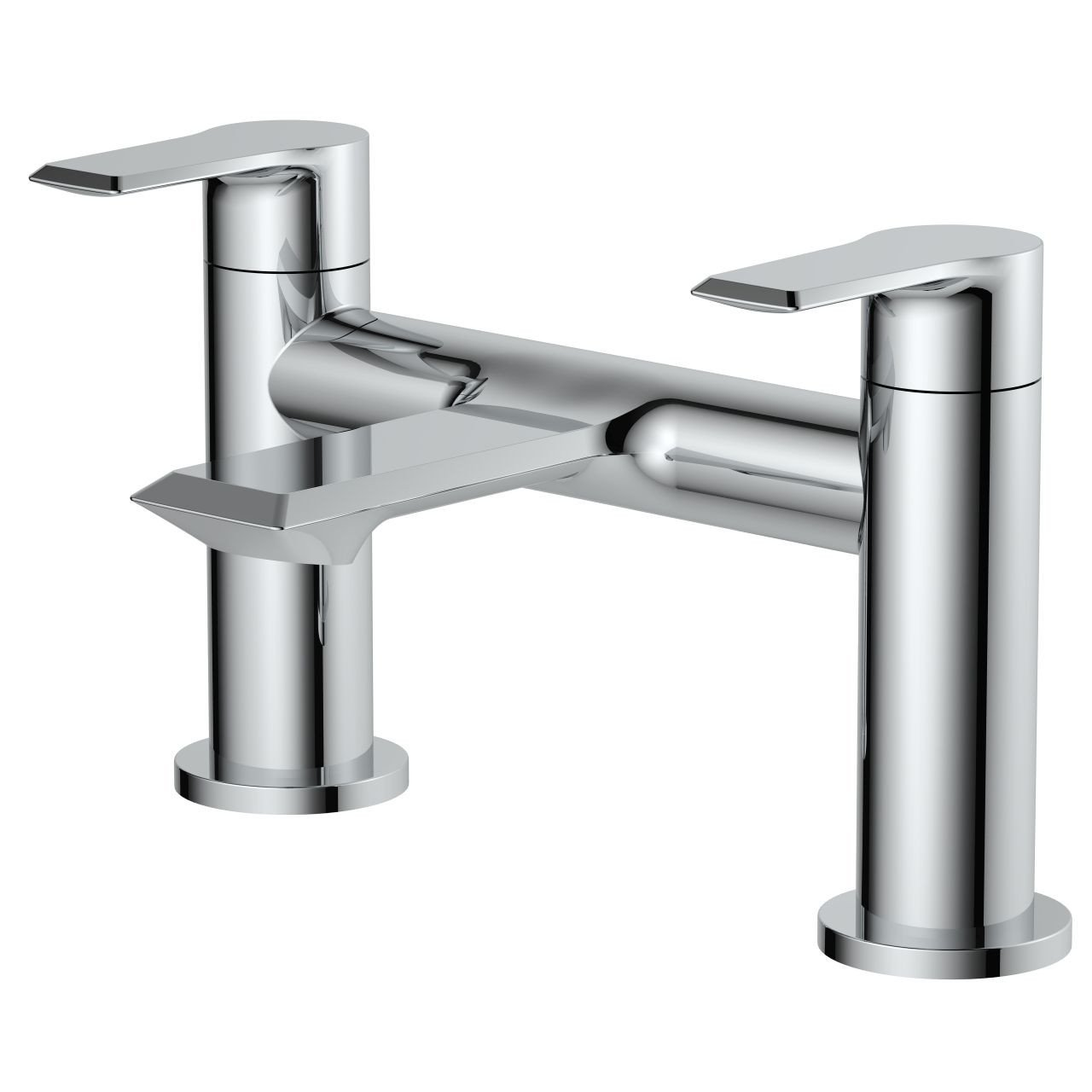 Nuie Limit Round Deck Mounted Bath Filler Tap - LIM303