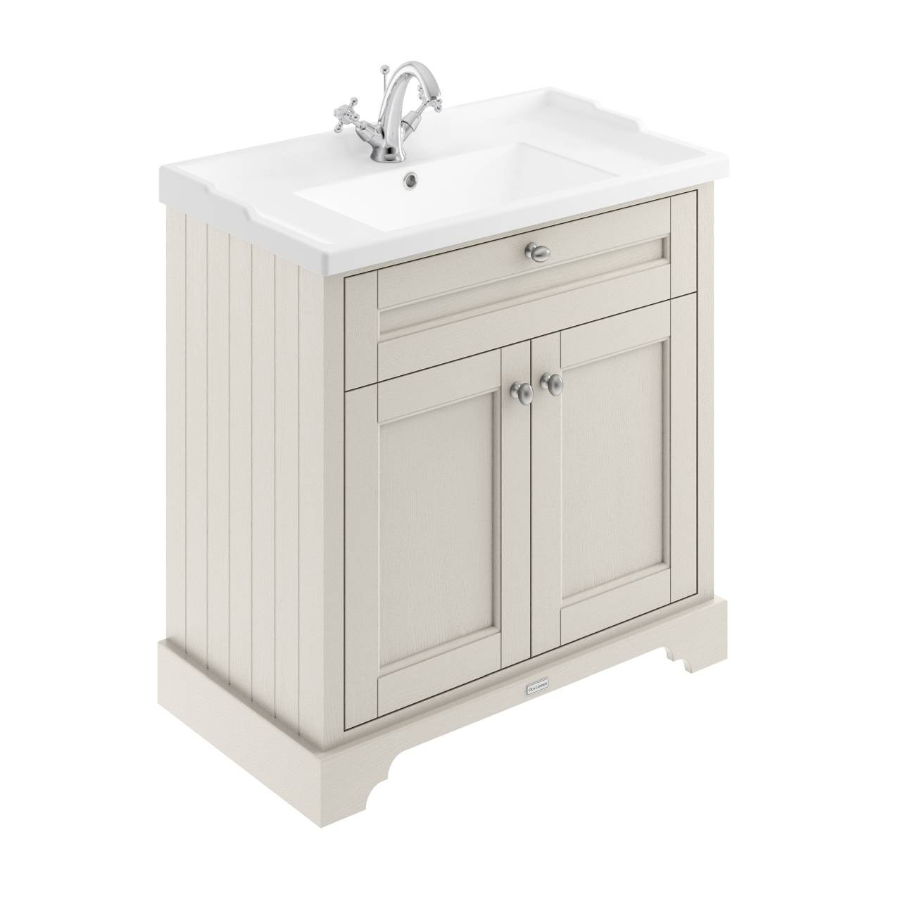 Basin NOT INCLUDED 800mm Bathroom Vanity Unit ONLY