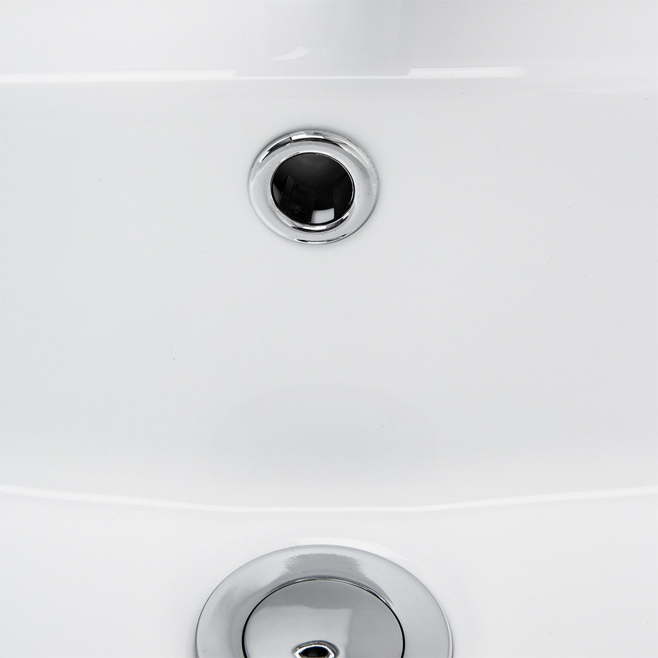 Paulo 600mm Basin & Full Pedestal Detail