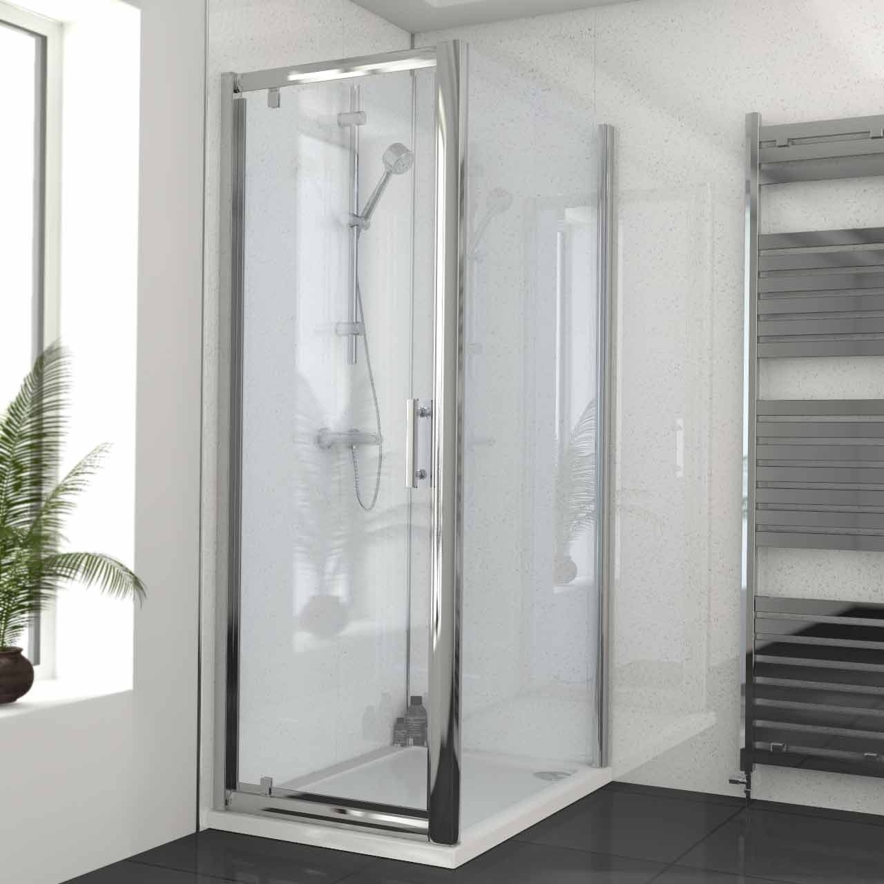 Series 6 700mm x 1000mm Pivot Door Shower Enclosure