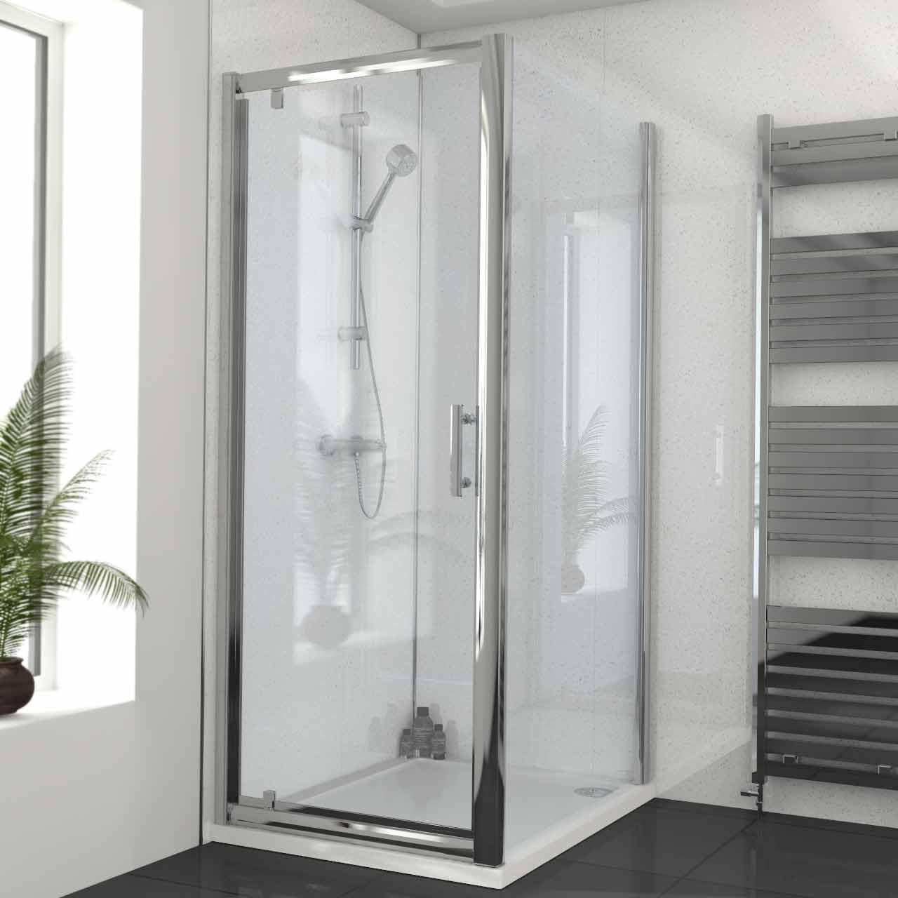 Series 6 800mm X 1000mm Pivot Door Shower Enclosure