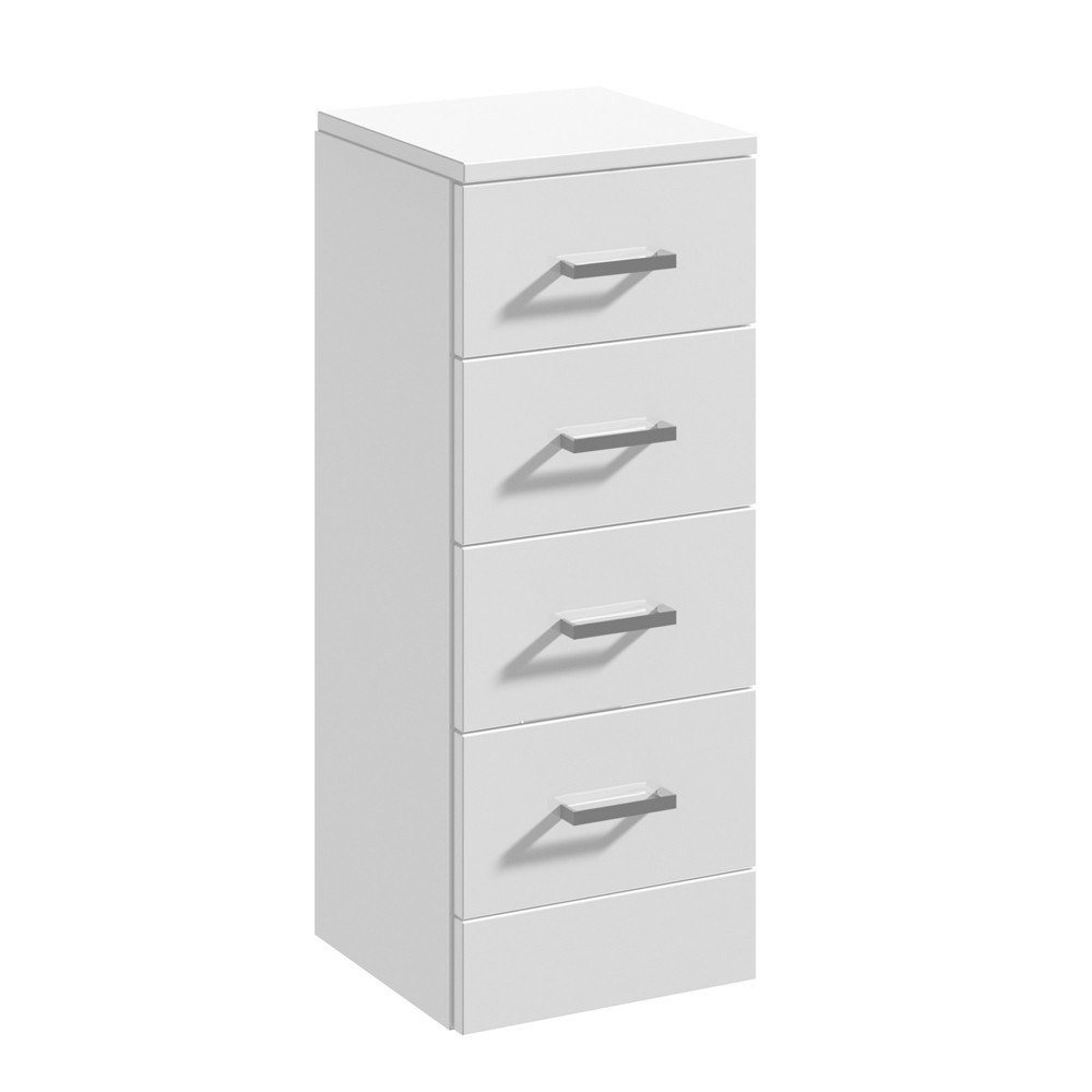 Alexander James & Modena 300mm x 300mm 4 Drawer Unit