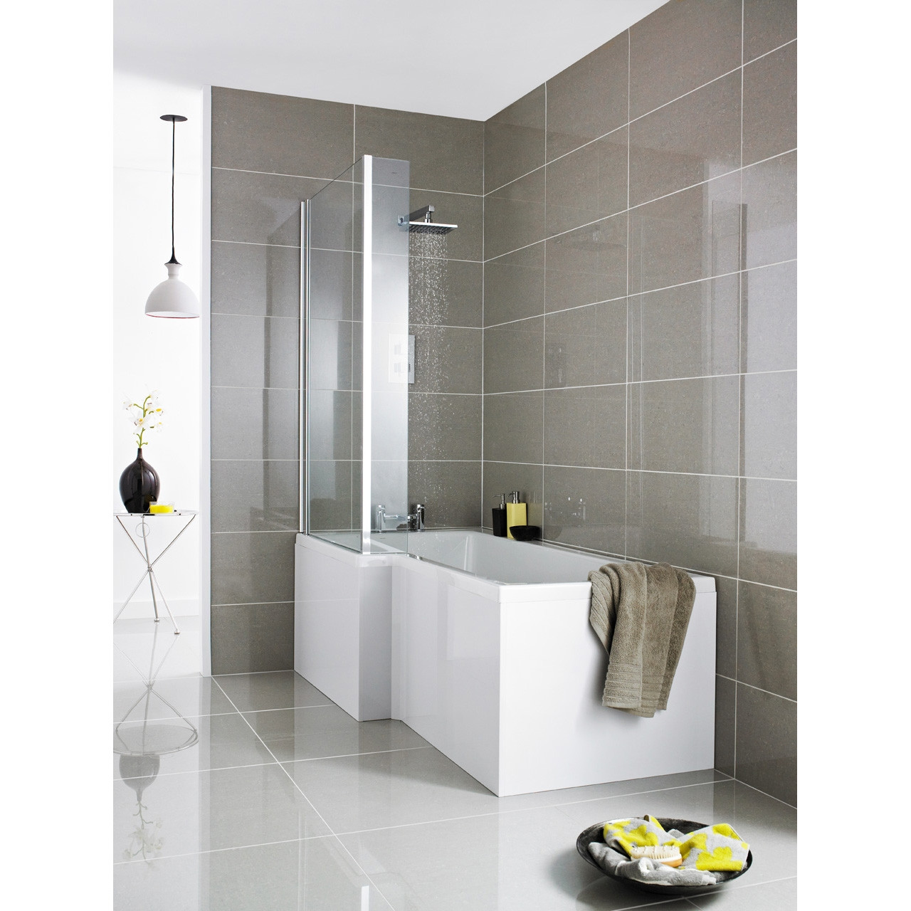 Premier 1500 Square Acrylic Shower Bath Front Panel - NMP133