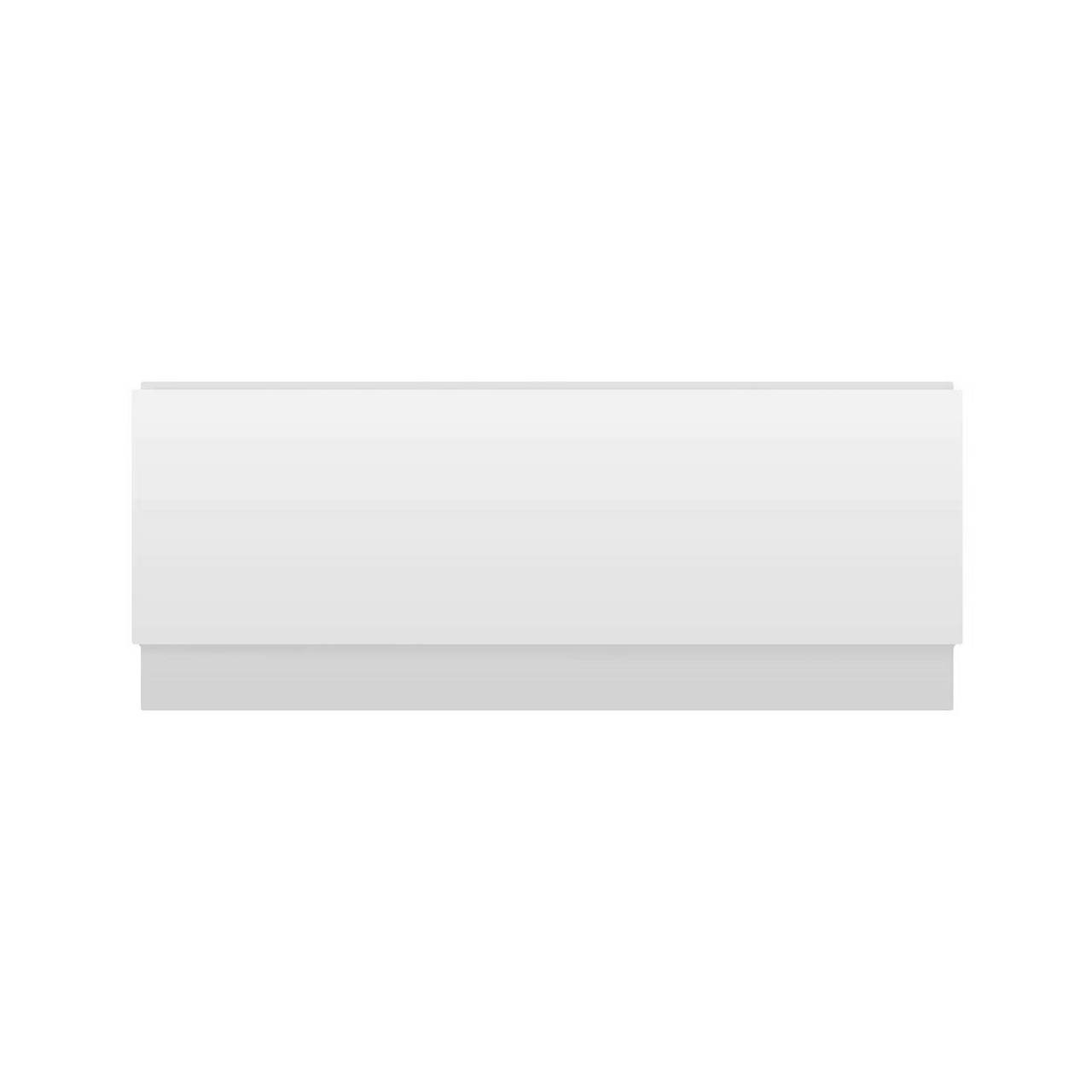 Hudson Reed Classic White 1700mm Front Bath Panel with Plinth - BPR105