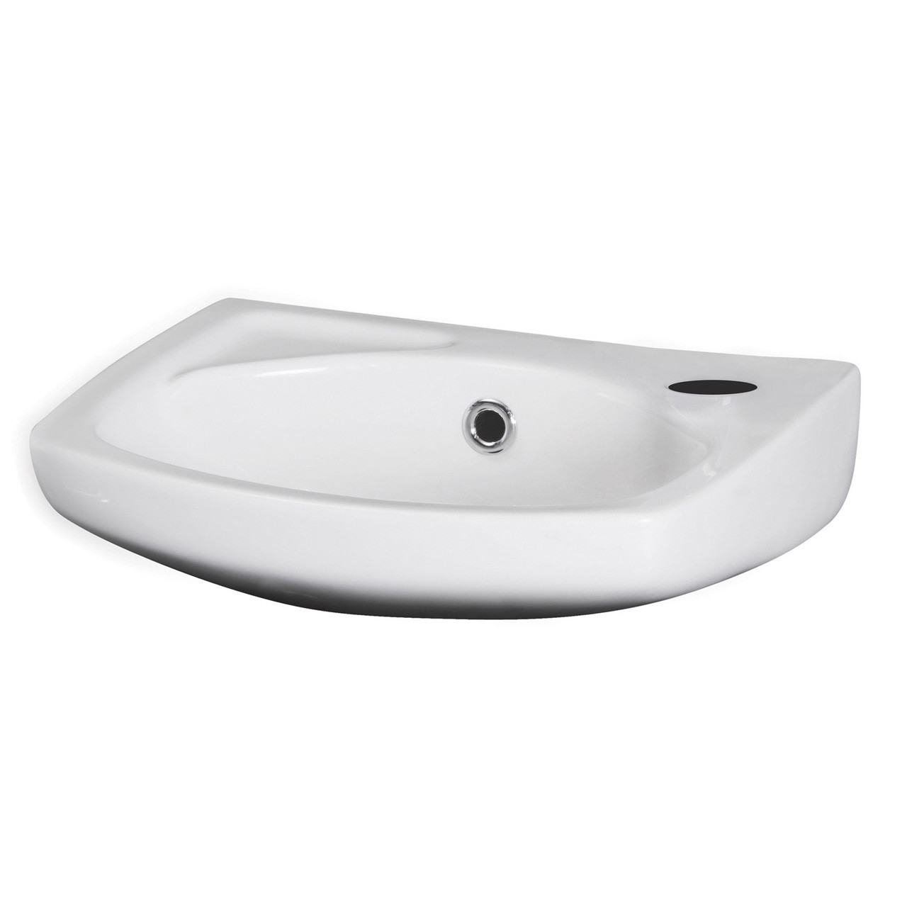 Nuie 350mm Wall Hung Basin with 1 Tap Hole - NCU832