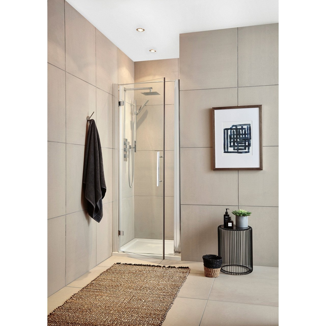 Premier 700mm Hinged Door 8mm Thick - MH70-E8