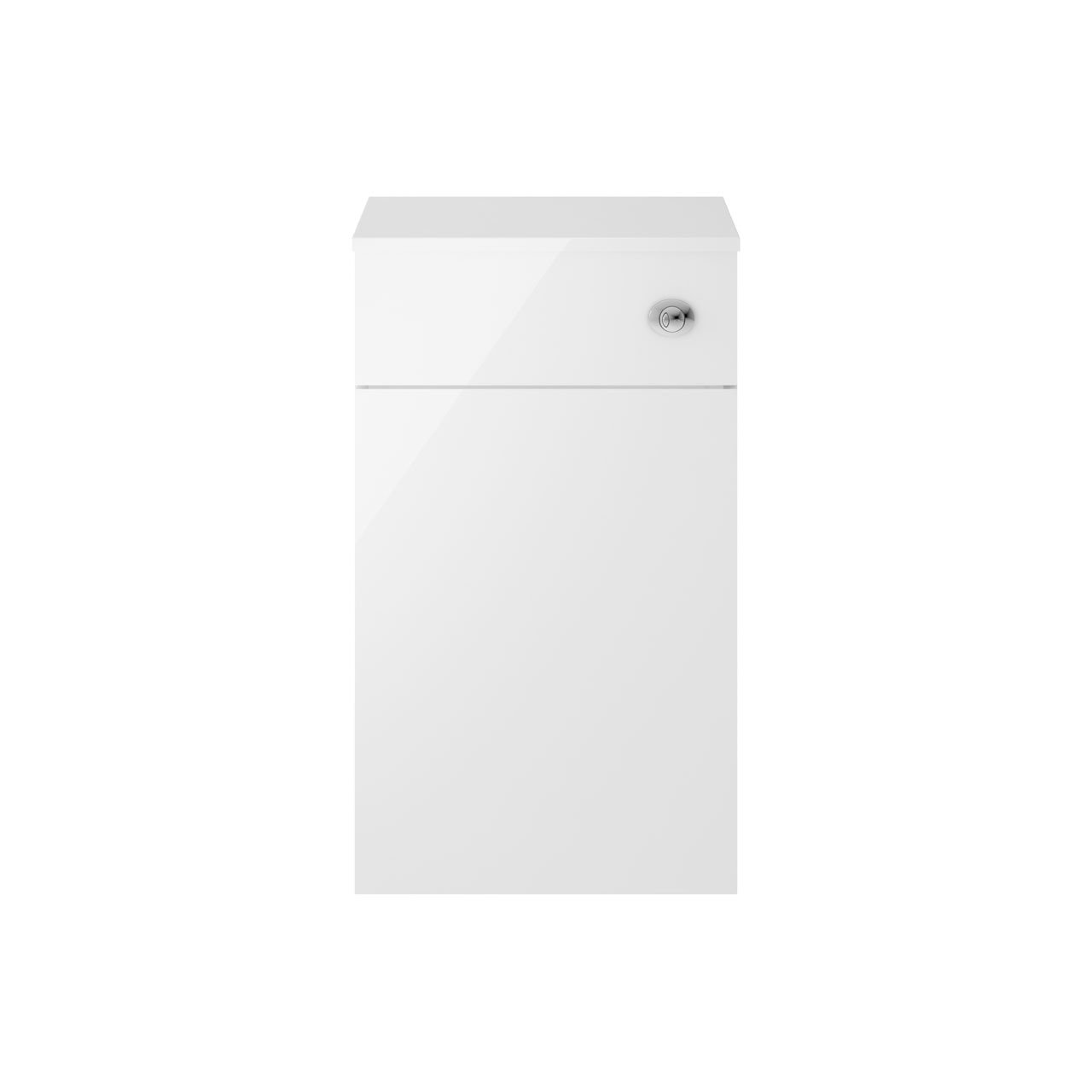 Premier Athena Gloss White 500mm Toilet Unit - MOE142