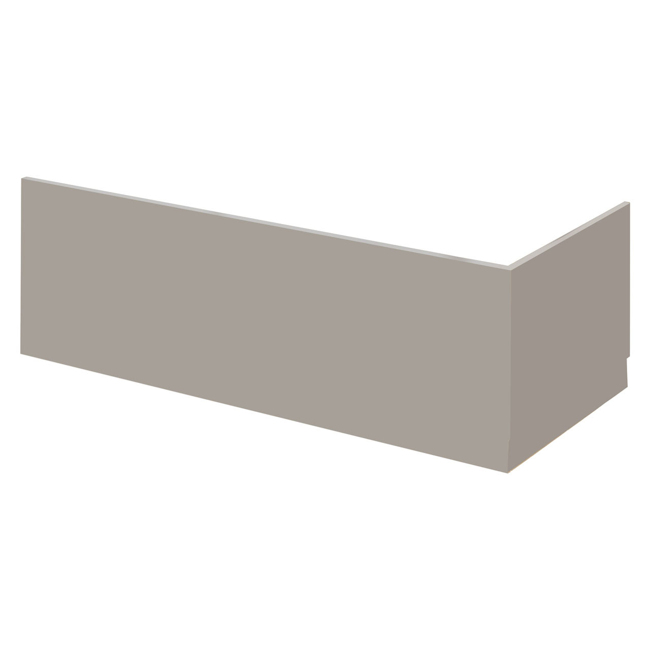 Nuie Athena Stone Grey 1700mm Front Bath Panel - MPC405
