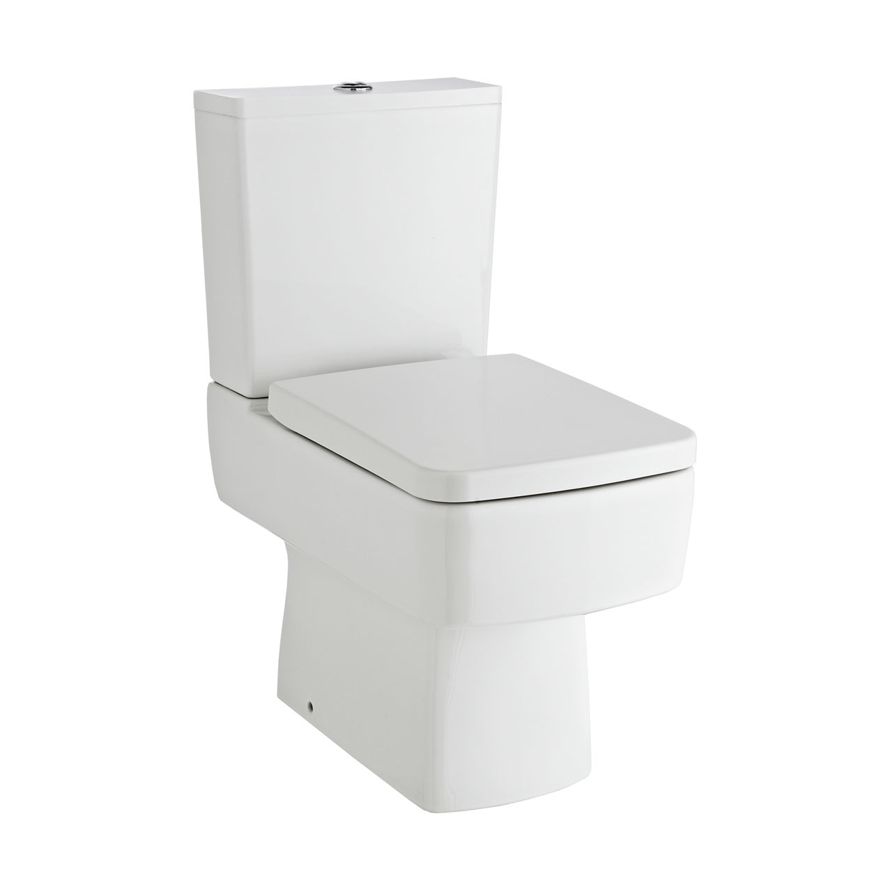 Premier Bliss Semi Flush to Wall Compact Toilet - CBL008