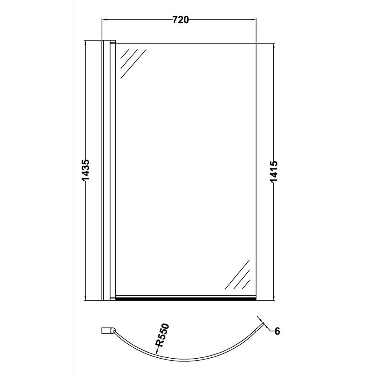 Premier Curved Screen with Knob - NCS1