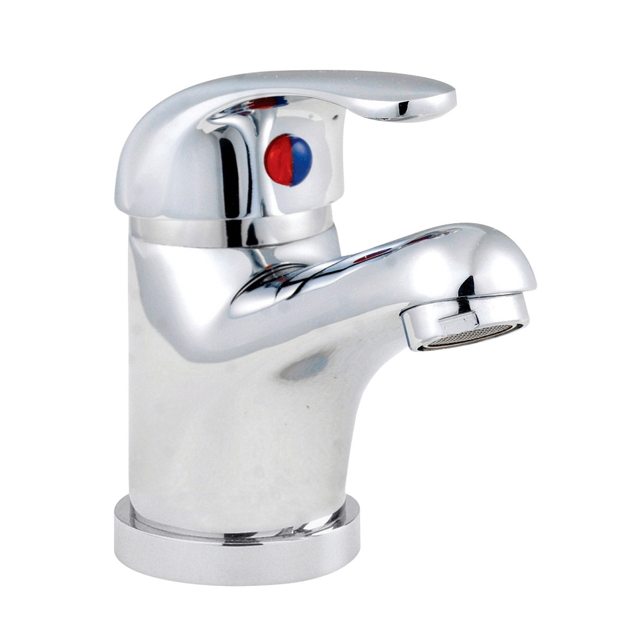 Premier D-Type Mono Basin with Push Button Waste - DTY345