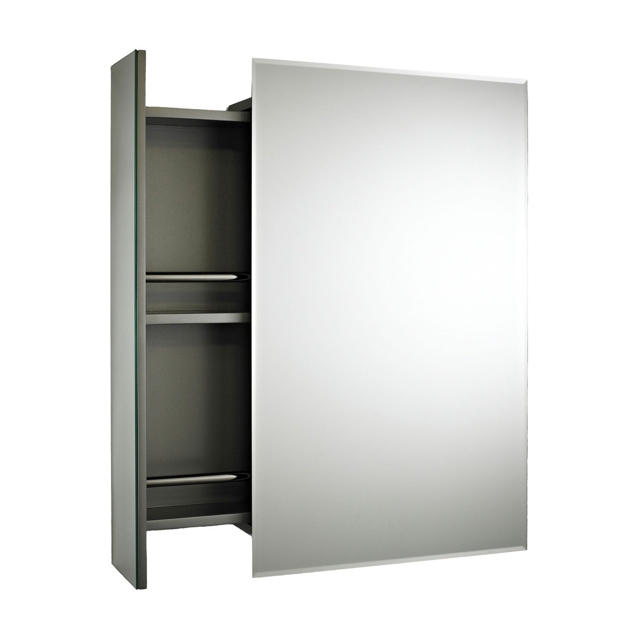 Premier Intrigue Side Open Mirror Cabinet 750mm X 460mm X