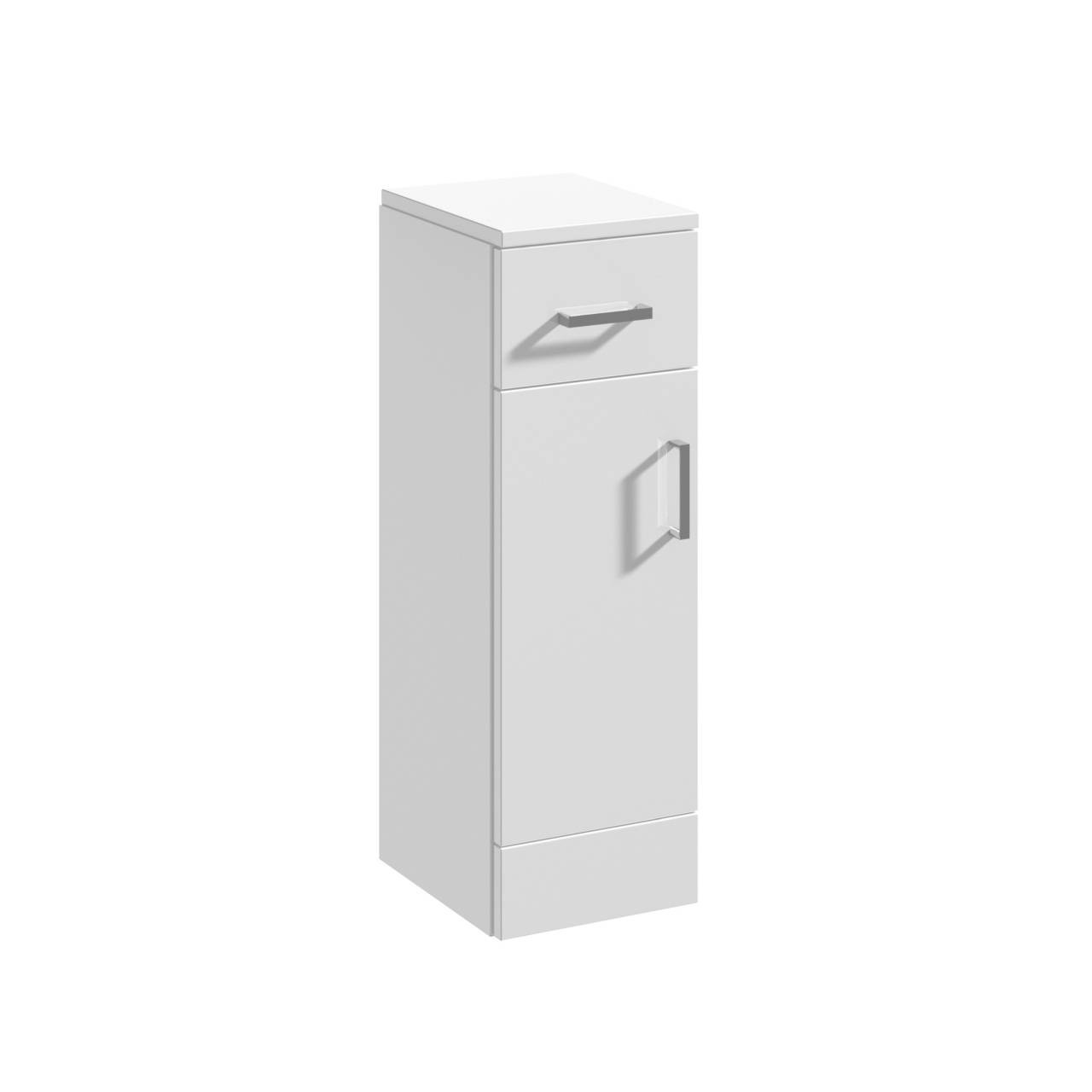 Nuie Mayford Gloss White 250mm x 300mm Storage Cupboard - PRC171