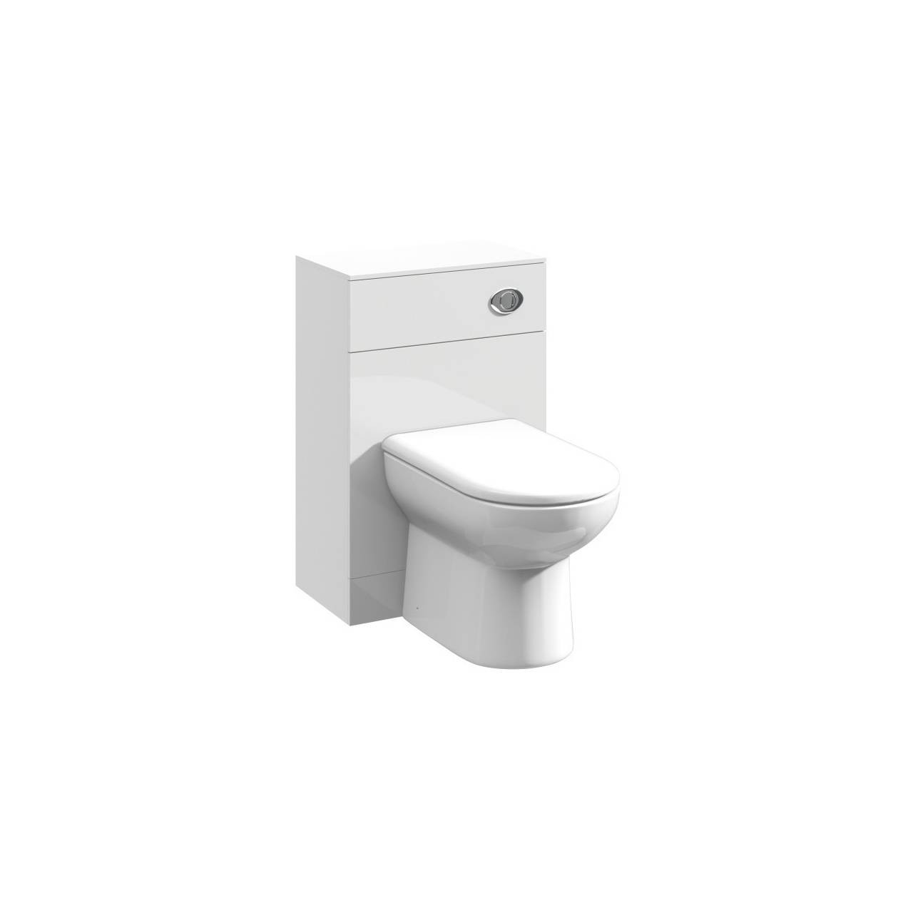 Premier Mayford Gloss White 500mm x 300mm Toilet Unit - PRC141